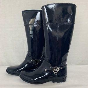 *NEW* MICHAEL KORS Fulton Rain Boots - NAVY BLUE